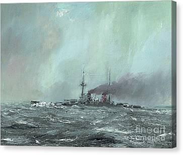Derfflinger 1916 Canvas Print