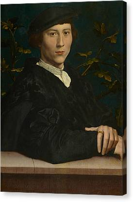 Derich Born Canvas Print by Hans Holbein the Younger