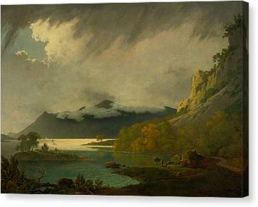 Derwent Water, With Skiddaw In The Distance Canvas Print