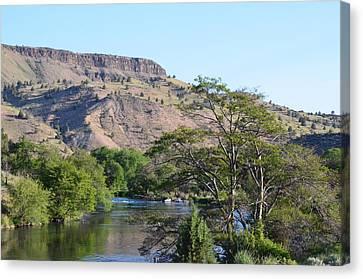 Deschutes River At Trout Creek Canvas Print