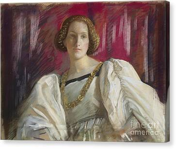 Desdemona Canvas Print by Celestial Images