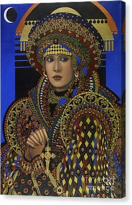 Desdemona Canvas Print by Jane Whiting Chrzanoska