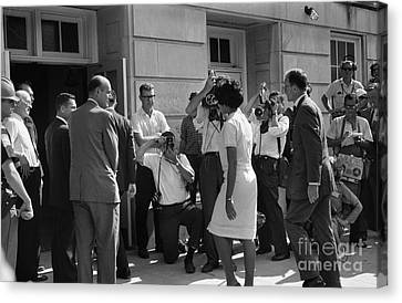 Desegregation, 1963 Canvas Print by Granger