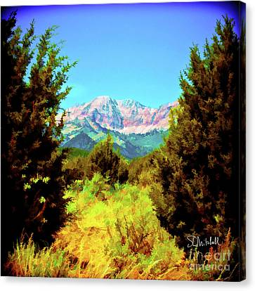 Deseret Peak Canvas Print