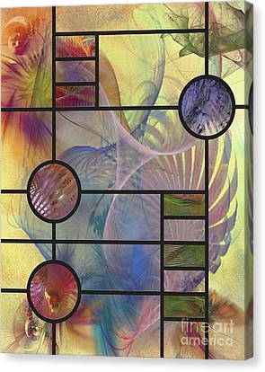 Desert Blossoms Canvas Print