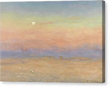 Desert Caravan Canvas Print