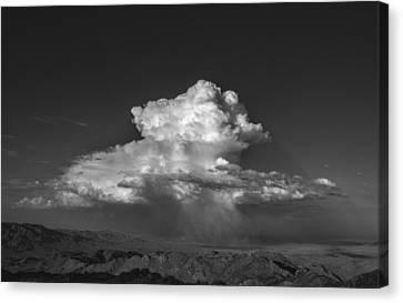 Desert Cloudburst Canvas Print by Joseph Smith