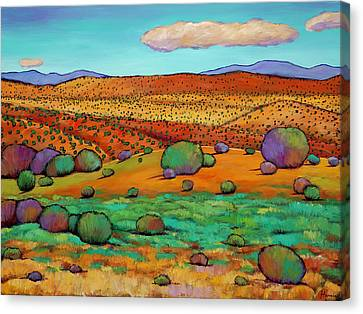 Southwest Canvas Print - Desert Day by Johnathan Harris
