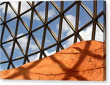 Desert Dome Canvas Print by Karen M Scovill