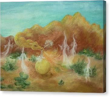 Desert Dragon Canvas Print