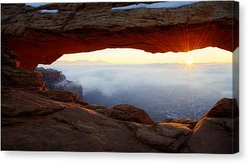 Desert Fog Canvas Print by Chad Dutson
