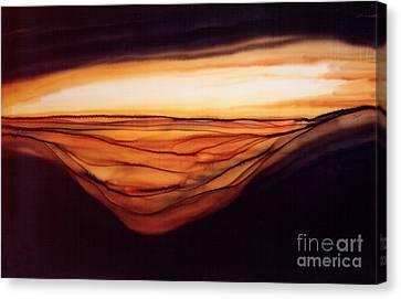 Desert Glow Canvas Print by Addie Hocynec