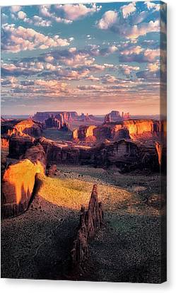 Desert Glow   Canvas Print by Nicki Frates
