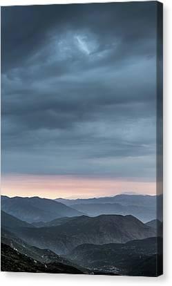 Desert Monsoon Canvas Print