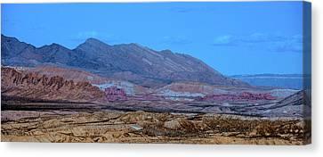 Canvas Print featuring the photograph Desert Night by Onyonet  Photo Studios