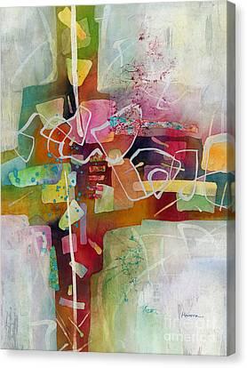 Desert Pueblo 2 Canvas Print by Hailey E Herrera