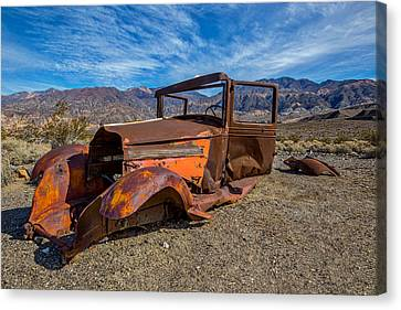 Desert Relic Canvas Print by Peter Tellone