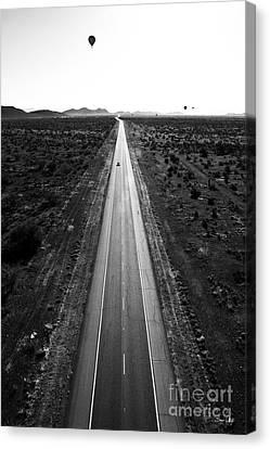 Desert Road Canvas Print by Scott Pellegrin