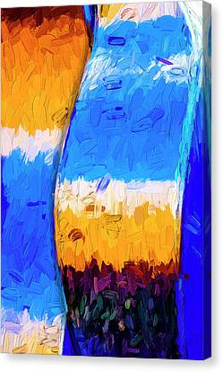 Canvas Print featuring the photograph Desert Sky 3 by Paul Wear