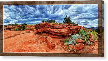 Desert Storm Canvas Print by ABeautifulSky Photography