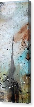 Desert Surroundings 3 By Madart Canvas Print by Megan Duncanson