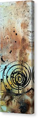 Desert Surroundings 4 By Madart Canvas Print by Megan Duncanson