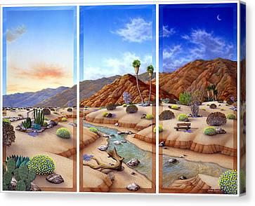 Desert Vista Canvas Print by Snake Jagger