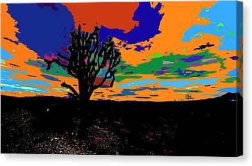 Deserted Color Landscape Canvas Print by Kenneth James