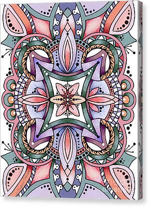 Design 217 E Canvas Print