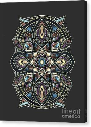 Design 222 A Canvas Print by Suzanne Schaefer