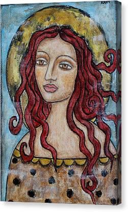 Desiree Canvas Print by Rain Ririn