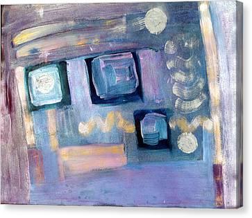 Desktop  Canvas Print by Don  Wright
