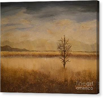 Desolation Canvas Print by Lori Jacobus-Crawford