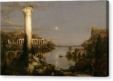 Desolation Canvas Print by Thomas Cole