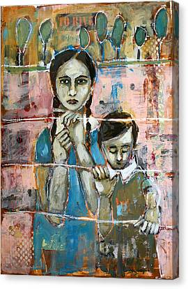 Desperate Canvas Print by Jane Spakowsky