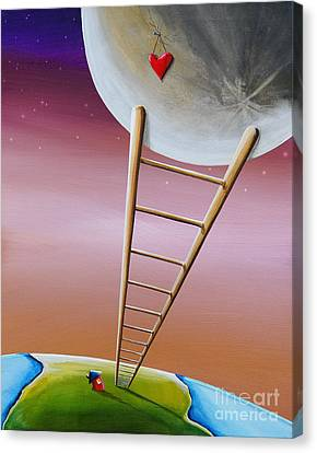 Destination Moon Canvas Print