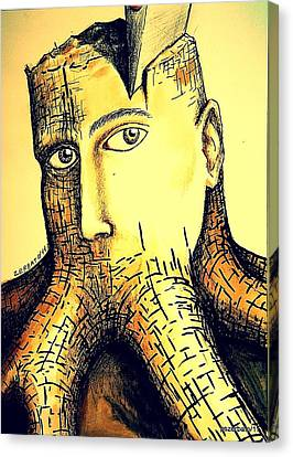 Destroying Ignorance Canvas Print by Paulo Zerbato