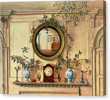 Detail Of Home Sweet Home  Canvas Print by Walter Dendy Sadler