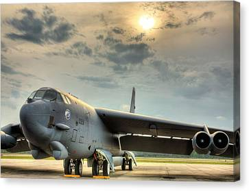 Deterrence  Canvas Print by JC Findley