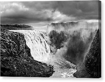 Dettifoss Waterall, Iceland. Canvas Print