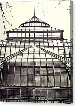 Detroit Belle Isle Conservatory Canvas Print by Alanna Pfeffer