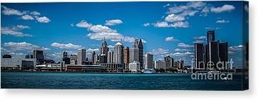Detroit Skyline Canvas Print