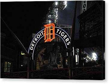 Detroit Tigers Canvas Print