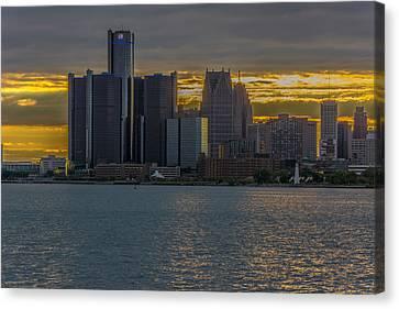 Detroit Versus Everybody  Canvas Print