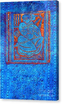 Devi Canvas Print by Floyd Menezes