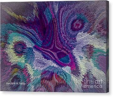 Genetic Modified Iris Canvas Print by Moustafa Al Hatter