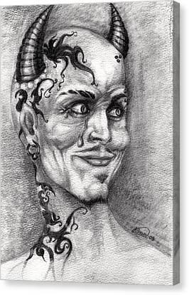 Devil May Cry Canvas Print by Alban Dizdari