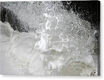 Devils Churn Up Close Canvas Print by Holly Ethan