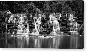 Devil's Den Cascade Canvas Print by James Barber