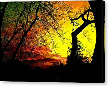 Canvas Print - Devil's Mountain by Cadence Spalding
